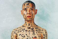 """Zhang Huan's """"1/2.""""Photo: Courtesy of Zhang Huan"""