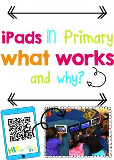 Ipads in primary: what works and why technology lessons, technology integration, teaching technology Teaching Technology, Technology Integration, Educational Technology, Technology Lessons, Computer Lessons, Technology Tools, Computer Lab, Educational Leadership, Technology Websites