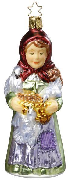 Inge Glas 2010#Christbaumschmuck#aus dem Hause Inge Glas.Weihnachtsbaumschmuck made in Germany mundgeblasen und von Hand bemalt bei www.gartenschaetze-online.de