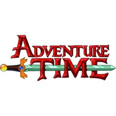 Fichier Adventure Time logo.png ❤ liked on Polyvore