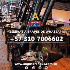 ¿Deseas reservar una mesa con nosotros? puedes comunicarte directamente a nuestro WhatsApp de reservas: +57 310 7006602 .  #Medellín #AngusBrangus #restaurantes