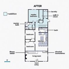 Floor plan guest house. What if you modify this by adding a loft and ...