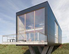 Cembrit B. Fibre Cement Cladding, Composite Siding, Panel, Metallica, Exterior, House Design, Cabin, Flooring, Buildings