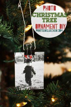 Photo Christmas Ornaments DIY