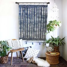 12 Inspiring Ways To Creatively Display Your Textile Collection – Lamour Artisans Ikea Curtains, Ikea Frames, Thing 1, African Textiles, African Mud Cloth, Wall Tapestry, Art Pieces, Wall Decor, Wall Art