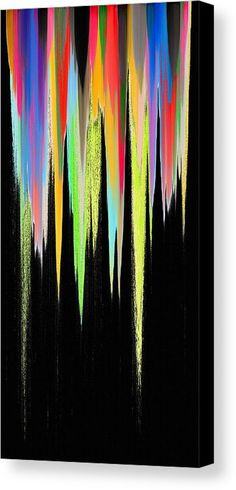 Pixel Sorting 28 Canvas Print by Chris Butler.  #art #abstract #artdeco #design #interior #home #Decor #wall #modern #contemporary #homedecor #abstractart #interiordesign #simple #canvas #print #pixelsorting #pixelsort #hue #algorithm #glitch