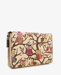 Perched Owl Wallet | FOREVER21 (to bad ours went out of business............)   :(