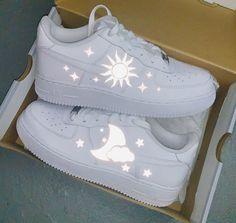 Moonlight Air Force 1 (Limited Release) — Cvlture Shop for women Cute Nike Shoes, Cute Nikes, Cute Sneakers, Nike Air Shoes, Jordan Shoes Girls, Girls Shoes, Air Force One Shoes, Swag Shoes, Fresh Shoes