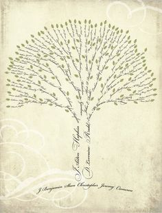 family tree idea. LOVE. by sharon.smi
