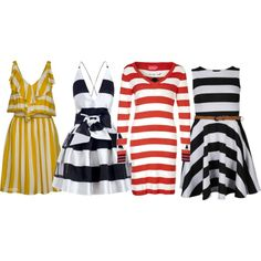 """""""Stripes Craze"""" by tonnie-1 on Polyvore"""