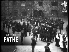Funeral Of The Late Duchess Of Connaught 1917 (1917) - YouTube
