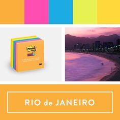 Explore the 'Colours of the World collection' - Rio de Janeiro.