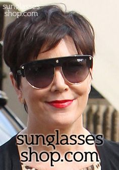 042d414fe3436 Kris wearing Tom Ford Liane sunglasses
