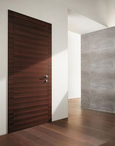 Modern Interior Doors Design modern interior swing door featuring a wood slab panel with
