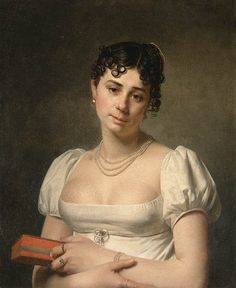 Portrait of a young lady | Martin Drolling the Elder (date unknown)