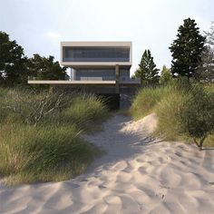 Find out how to create amazing looking 3d Grass and Sand using 3dsmax, VRay, MultiScatter and more exampled on a house near the Baltic Sea.