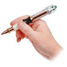 WANT!!!! Sonic Screwdriver pen