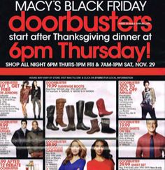MACY'S $$ Black Friday Ad 2014!