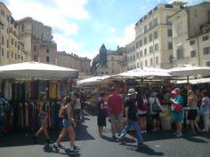 Mercado en Campo de' Fiori