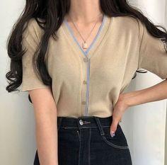 Korean Girl Fashion, Korean Street Fashion, Ulzzang Fashion, Asian Fashion, Korean Fashion Casual, Korea Fashion, Korean Casual Outfits, Cute Casual Outfits, Girly Outfits