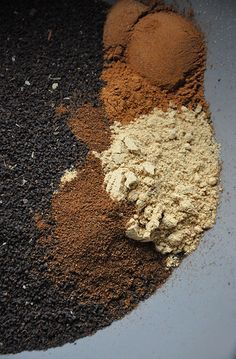 basic chai recipe (powdered) so you always have some on hand!!