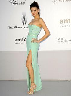 Isabeli Fontana in Versace Spring 2012
