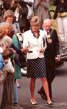 June 6, 1991: Diana Princess Of Wales Opened A New Day Hospital And Family Health   /   Cardiff, Wales 30 June 1993