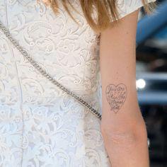Laut einer Studie machen Tattoos happy!