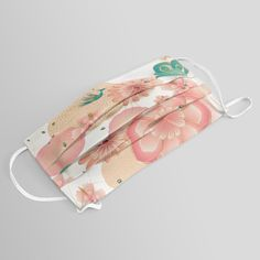 Buy Elegant Floral Ornament, Spring Peach Garden, Decorative Pink Flowers, blossom sakuras BOHO pattern Face Mask by sofiartmedia. Worldwide shipping available at Society6.com. Just one of millions of high quality products available.