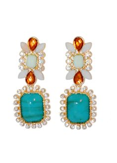 Kait Drop Earrings – Teal House Collection