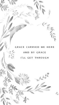 By grace alone I will succeed