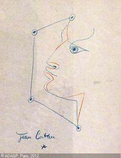 cocteau-jean-1889-1963-france-ansikte-894625-500-500-894625.jpg (344×451)