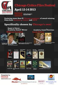 Win 100 tickets to the 2013 Chicago Critics Film Festival valued at $1,500 courtesy of HollywoodChicago.com! Win here: http://ptab.it/HZac