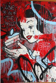 25 Artists Take On Snow White!  by French artist Speedy Graphito