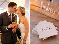 Elegant and Classic Pink Wedding In San Francisco photographed by Adriana Klas Photography at St. Wedding Spot, Wedding Ceremony, Wedding Fun, Wedding Ideas, 2015 Hairstyles, Signature Cocktail, Wedding Signage, Cocktail Napkins, San Francisco