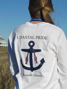 Long Sleeve Seaside Classy Tee | Coastal Pride