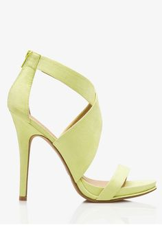 12 Sky-High Stilettos To Rock This Spring #refinery29  http://www.refinery29.com/stilettos#slide3  Forever 21 Crisscross Stiletto Sandals, $29.80, available at Forever 21.