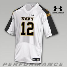 5c24c555e New Under Armour Navy Summer Whites Replica Jersey - Summer Whites Sideline  Football Collection