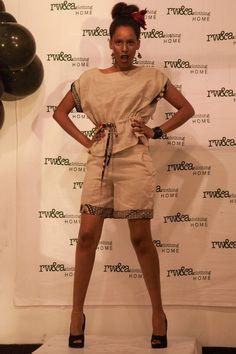 Model Sharifa in RWANDA CLOTHING