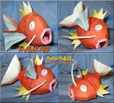 My favorite pokemon as a papercraft Holiday Crafts For Kids, Diy And Crafts, Paper Crafts, Video Game Crafts, Papercraft Pokemon, Useful Origami, Holidays With Kids, Pokemon Fan, Crafty Craft