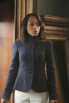 The first use of Alexander McQueen. | Inside Olivia Pope's Closet
