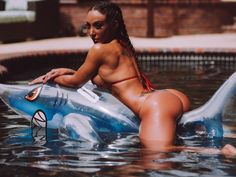 Bikini pool shark