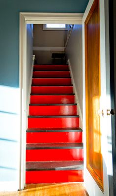 Red and Black Stairs   COOP