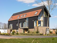 Featuring innovative, striking contemporary design by Proctor Matthews, the barn-style homes at Abode are inspired by local rural buildings and are positioned just 3 miles from Cambridge city centre.