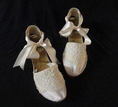 Alpargatas de novia - like your little pink shoes