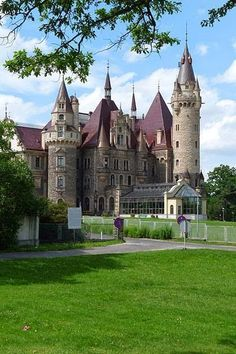 Moszna Castle, Poland  photo via victoria