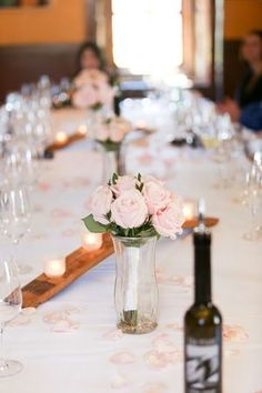 Vineyard Wedding Ceremony Followed By a Lovely Reception at Tra Vigne