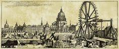 1695 - Treuil de carrière dans le Faubourg Saint-Marcel - www.troglos.com