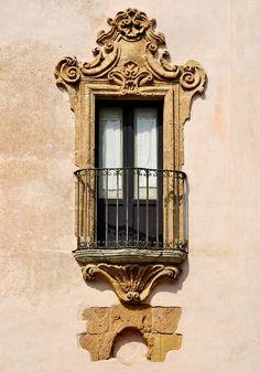 Baroque Balcony | Erice - Sicily #erice #sicilia #sicily