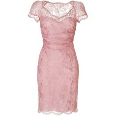 EMILIO PUCCI Draped Lace Overlay Dress in New Pink ($1,347) ❤ liked on Polyvore featuring dresses, vestidos, emilio pucci, pink, short dresses, pink cocktail dress, short lace dress, sheer mini dress and lace dress